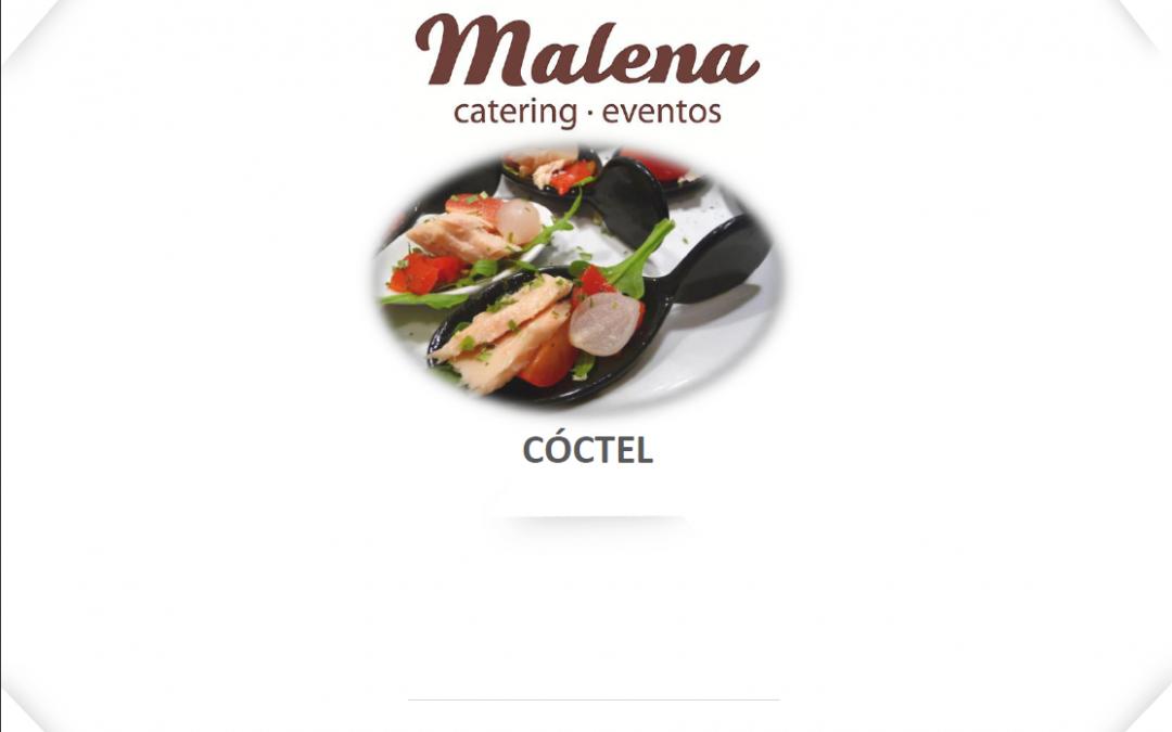 Nuevos menús 2017 de Catering Malena: Vino español & Cóctel