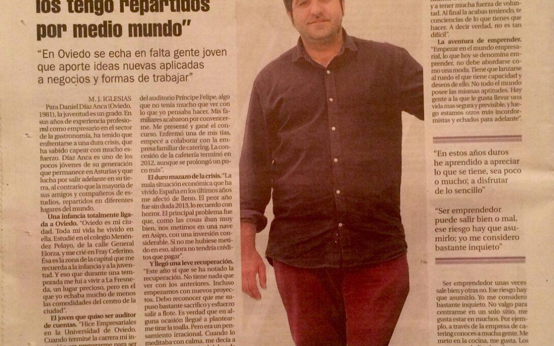 """Conoce a nuestra gente: Daniel Díaz Anca, socio de """"Catering Malena S.L."""""""