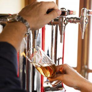 tiraje cerveza asturiana