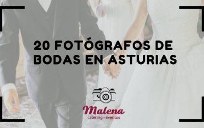 20 Fotógrafos para bodas en Asturias