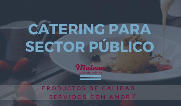 Catering para el sector público en Asturias